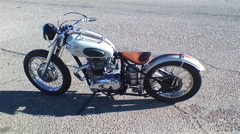 Mayer Brothers 1969 Triumph Bobber- 360 View!