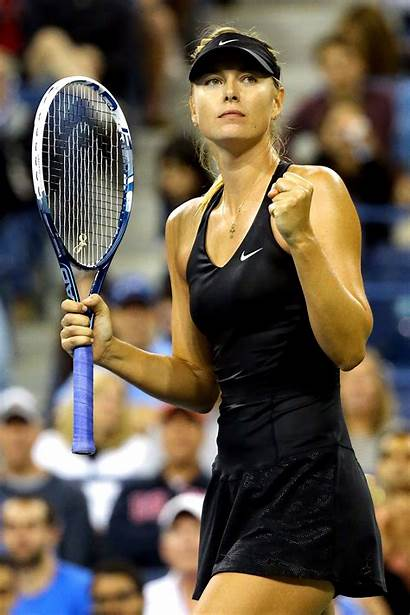 Sharapova Maria Tennis Open Star Fotos Fault