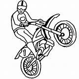 Coloring Bike Pages Dirt Print Motorcycles Biker Motocross Motorcross Preschool Dirtbike Motorcycle Thecolor sketch template
