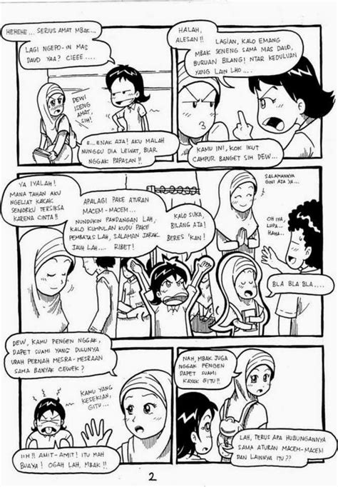 komik islami - KETIKA KAU JATUH CINTA   komik islami