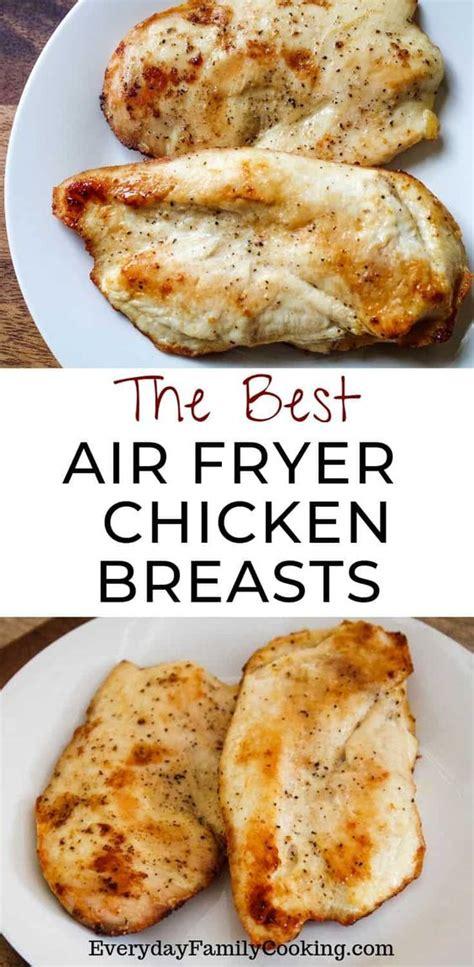 chicken air fryer breasts