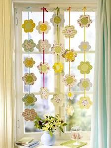 Blumen Basteln Fensterdeko : fensterschmuck fenster pinterest basteln ostern und fensterdeko ~ Markanthonyermac.com Haus und Dekorationen