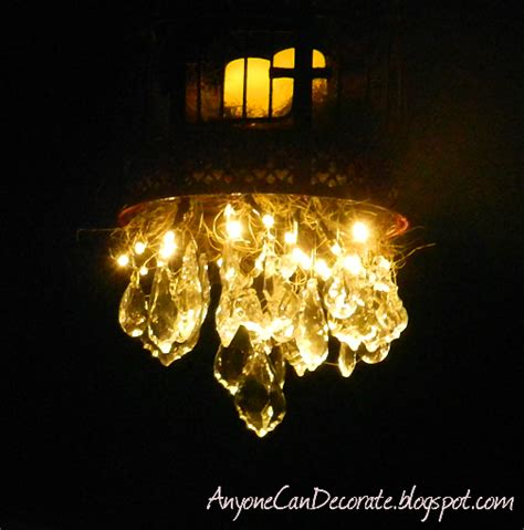 anyone can decorate how i diy d an outdoor chandelier