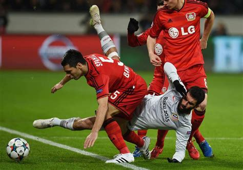 Images From Wednesday Champions League Matches The