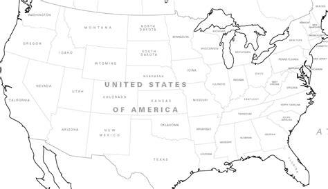 north america map drawing  getdrawingscom