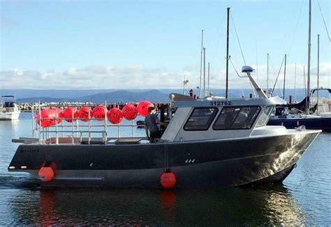 prawn  crab boat custom aluminum power boat  sale