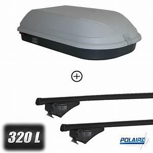 Barres De Toit Duster : coffre de toit classic 320 litres barres de toit dacia duster 5 portes a partir de 2013 ~ Maxctalentgroup.com Avis de Voitures