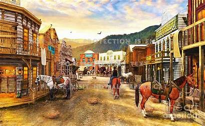 Wild West Town Saloon Jigsaw Dominic Davison