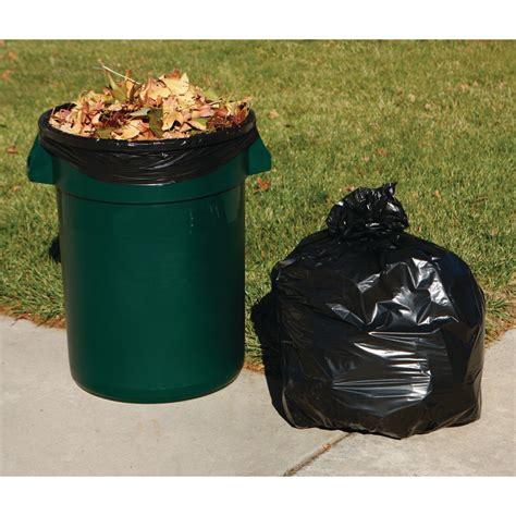 gal trash bags  pk