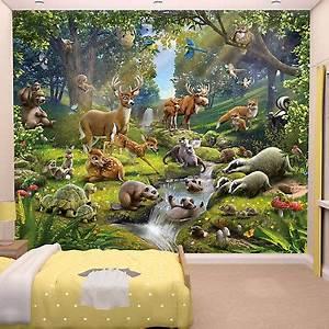 Fototapete Kinderzimmer Wald : fototapete tapete kinderzimmer wohnzimmer kinder wandbild ~ Watch28wear.com Haus und Dekorationen