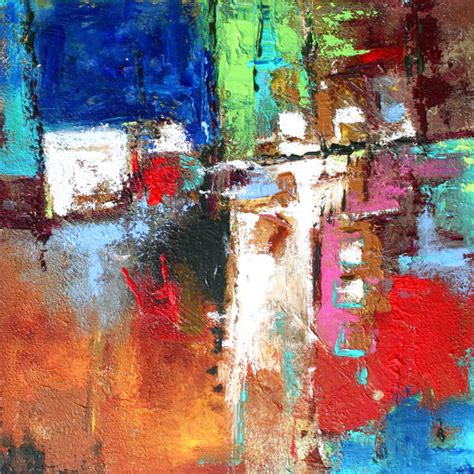 abstract artists international junction contemporary abstract modern original acrylic