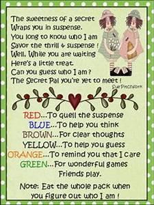 cute quotes for secret pals