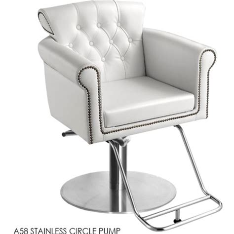 tufted styling chair by ki new york pk1169