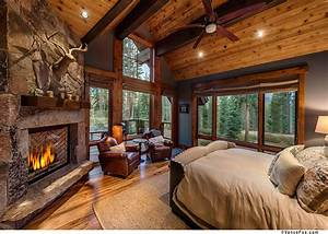 A master bedroom fit for the king of the mountain ...