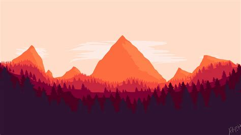 Firewatch Wallpapers 1920x1080 by Firewatch By Filip Wallpaper Size 1920x1080 By