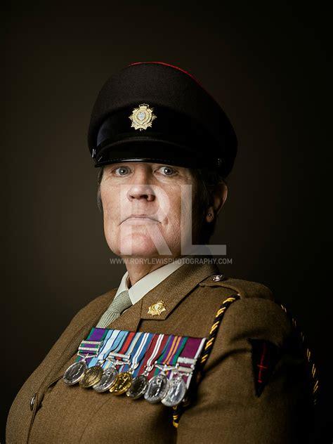 British Army Soldier, Warrant Officer Class 2 Deborah