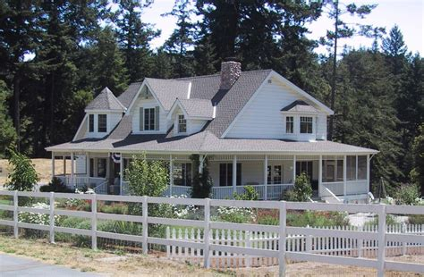 House Plans Wrap Around Porch Farmhouse Plans With Wrap Around Porches