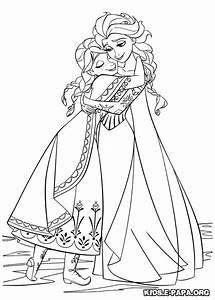 Ausmalbilder Anna Und Elsa Ausmalbilder Coloring Pages