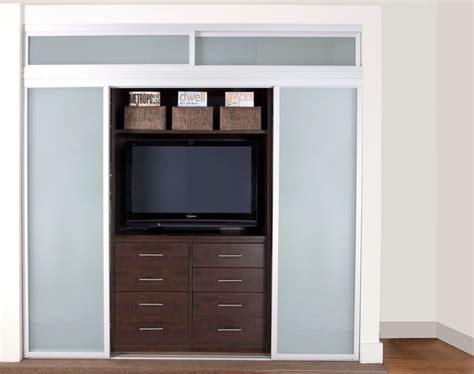 tv in closet design pictures remodel decor and ideas