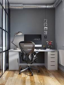 Bureau Style Industriel : coin bureau style industriel ~ Teatrodelosmanantiales.com Idées de Décoration