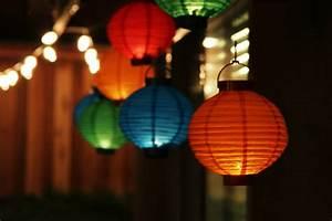 Lighting, For, Backyard, Dinner, Party