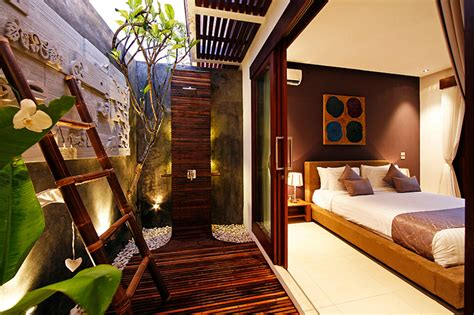 indoor outdoor ensuite bathroom chandra bali villas