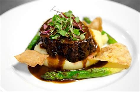 formal plated menu pb catering