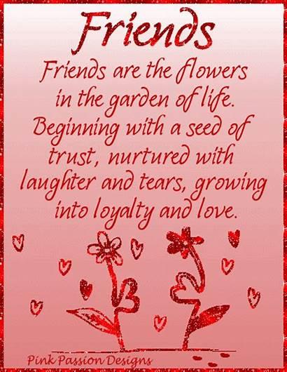 Friends Garden Flowers Friendship Friend Quotes Poem