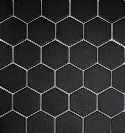 Tile Hexagon Porcelain Graphite Hex Unglazed Tiles