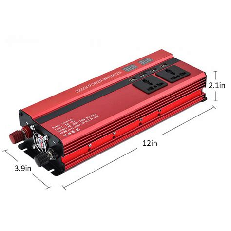 Cars With Usb Ports by 2000w Car Power Inverter With 4 Usb Ports Changing