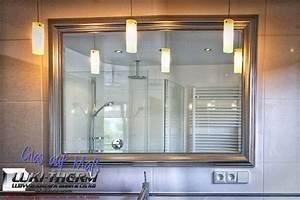 Badspiegel Mit Rahmen : spiegel luki therm ~ Frokenaadalensverden.com Haus und Dekorationen