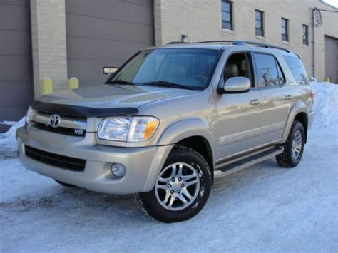 Find Used 2006 Toyota Sequoia Limited 4x4 Luxury Package