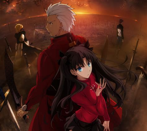 fate stay night unlimited blade works rin tohsaka archer