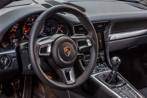 porsche carrera interior 2017 2017 porsche 911 first drive review