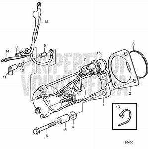 Volvo Penta Spr U00e4ngskiss Startmotor D6