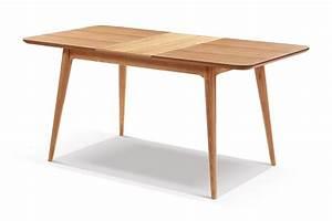 Table de salle a manger extensible en bois adda dewarens for Salle À manger contemporaineavec table salle À manger À rallonge
