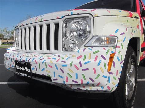 custom jeep liberty wrap  farrells ice cream brea ca