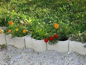 Bordure Beton Jardin : pose de bordure beton pour jardin farqna ~ Premium-room.com Idées de Décoration