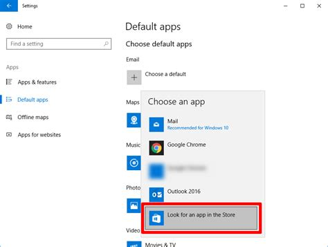 how to change your default apps in windows 10 5 steps