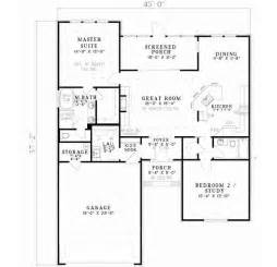 Simple 2bedroom 2bath House Plans Placement by Best 25 2 Bedroom House Plans Ideas That You Will Like On