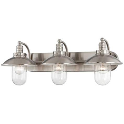 Ferguson Bathroom Vanity Lights by M513384 Downtown Edison 3 Bulb Bathroom Lighting Brushed