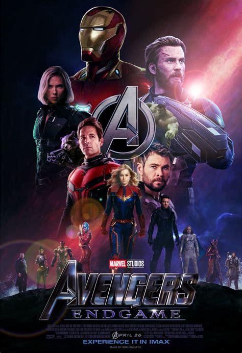 avengers endgame  poster  arkhamnatic  deviantart