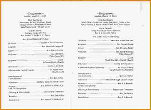 search results for wedding program templates calendar 2015 With templates for church programs