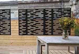 Brise Vue Opaque : palissadesign brise vue de terrasse ~ Premium-room.com Idées de Décoration
