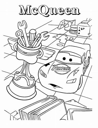 Coloring Mcqueen Lightning Pages Printable
