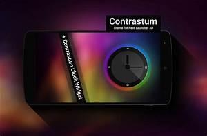 Next Launcher Theme Contrastum by Karsakoff on DeviantArt