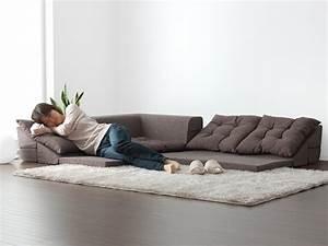 Long Floor Sofa — Zachary Horne Homes Choosing Floor Sofa