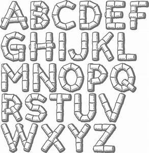 Myfonts tropical typefaces for Tiki letter stencils