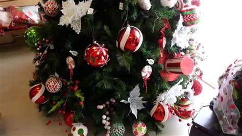 decoracion arboles de navidad 2017 bolas rojas christmas