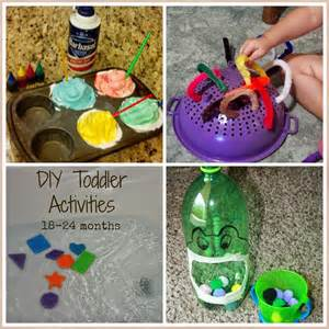 DIY Toddler Learning Activities
